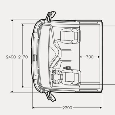 Volvo FH specifications illustration