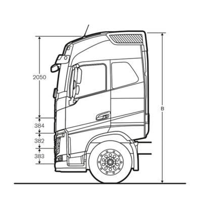 A cabina Globetrotter para camiões Volvo FH