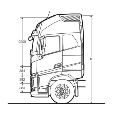 Volvo FH Globetrotter XL cab