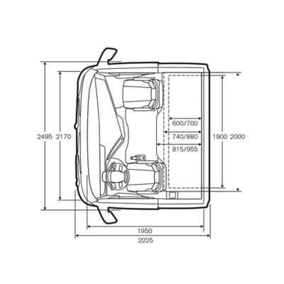 Cabina Globetrotter XL do Volvo FH