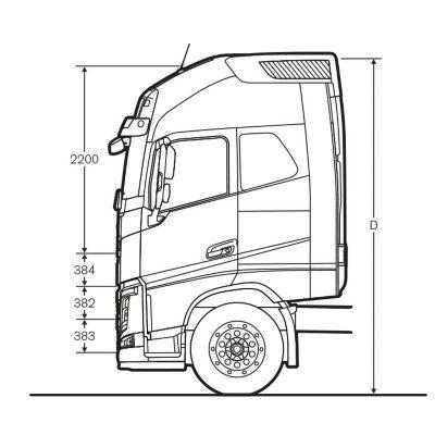 Cabina Volvo FH16 Globetrotter XXL