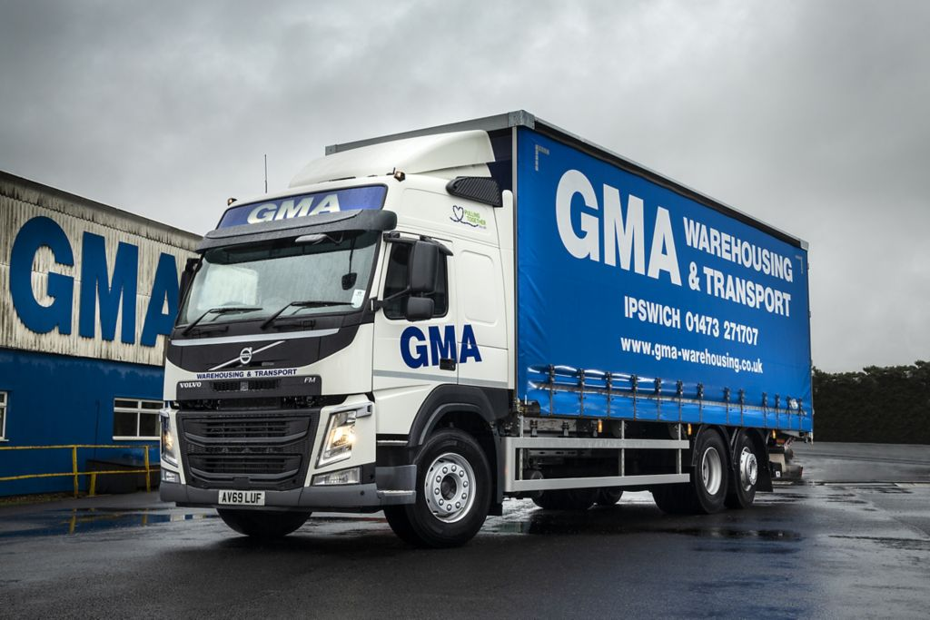Fuel efficiency the focus for new Volvos at GMA Warehousing & Transport
