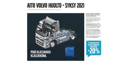 Volvo Trucks huolto
