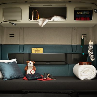 Comfortable sleeping compartment in the new Volvo FM