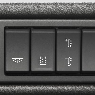 Climate control in the Volvo FMX