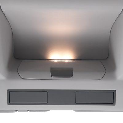 Interior lighting in the Volvo FMX