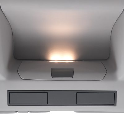 Éclairage intérieur du Volvo FMX