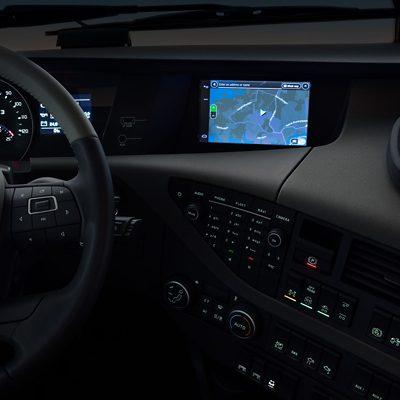 Volvo FH infotainment navigation