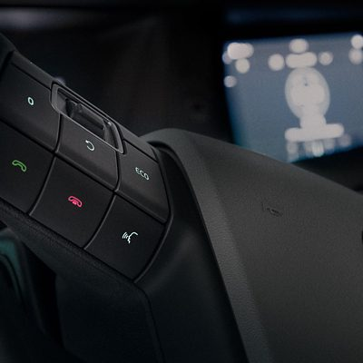 Volvo FMX voice activated