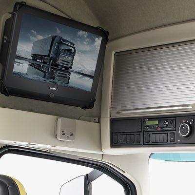 TV พร้อมดูใน Volvo FH