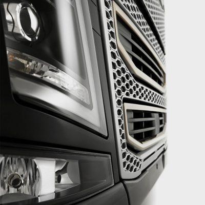 Conception aérodynamique du Volvo FH16