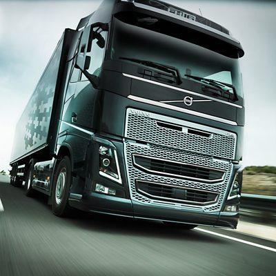 Volvo FH16 - monitorização da faixa de rodagem