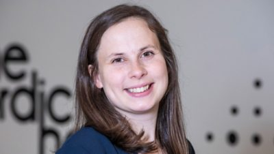 Аманда Гуннарссон - менеджер по связям с общественностью в ЕС