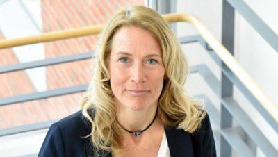 Elinore Axelsson vid Volvokoncernen har möjligheten att kunna påverka sitt arbete
