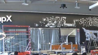 Graffiti art in CampX