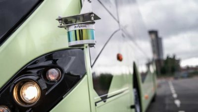Can customers buy autonomous technology from Volvo Buses today
