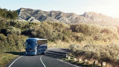 Conducción con la seguridad de Volvo