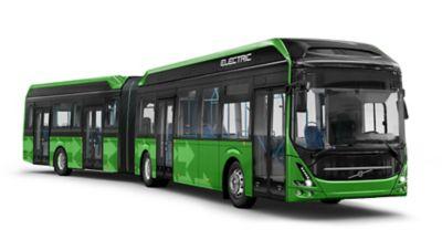 przegubowy autobus elektryczny Volvo