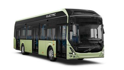 Volvo 7900 Electric range