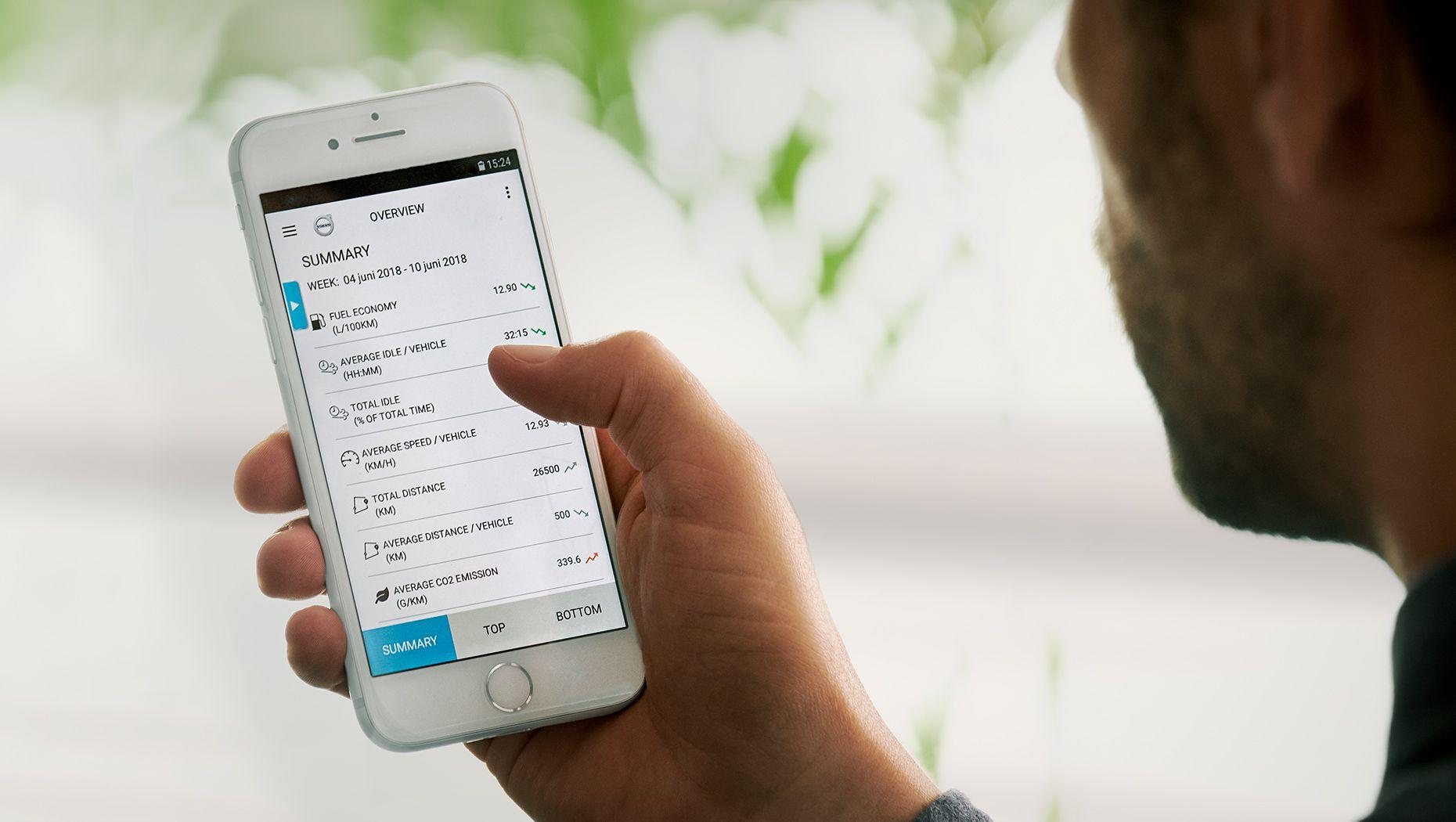 Volvo Connect app