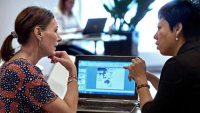 Investissement des collaborateurs dans le groupeVolvo