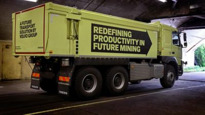 Volvo Group's first completely autonomous truck