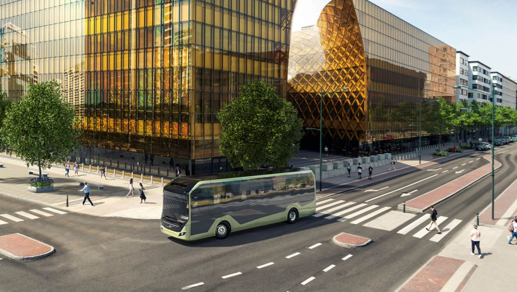 Volvo Buses apresenta novo chassi elétrico na Europa, com foco em mercados globais