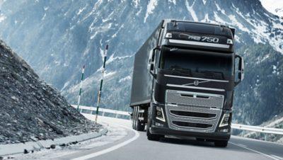 Éléments du châssis du Volvo FH16 plus légers