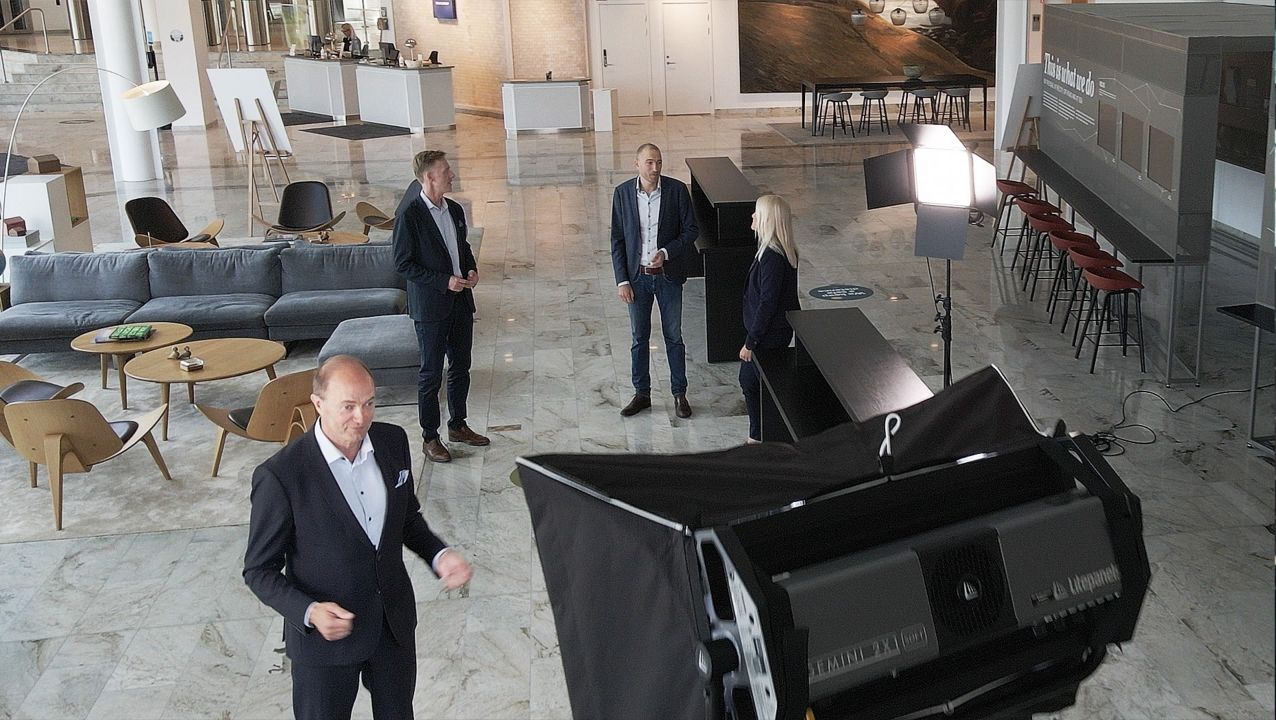 The Volvo City Bus News event, July 2021