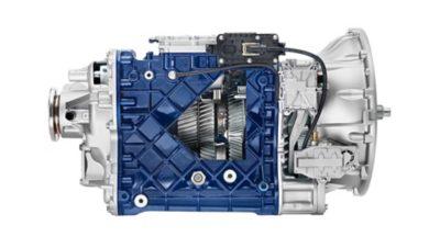 Volvo FM I-shift crawler gears