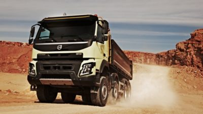 Volvo FMX exterior lower front