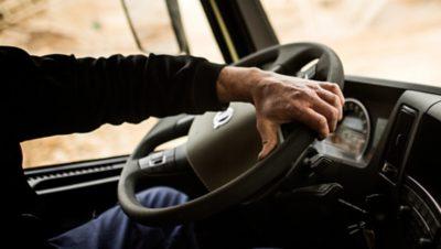 Volvo FMX dynamic steering