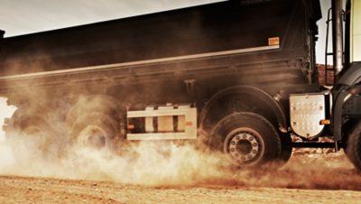 Direction dynamique du Volvo FMX
