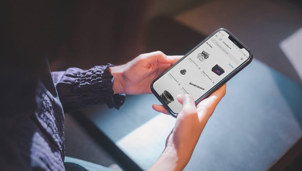 Volvo expande seu e-commerce de peças para o Instagram