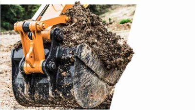 Grävmaskin från Volvokoncernen