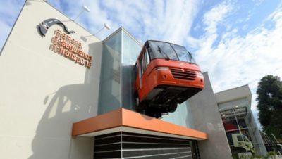 Centro de exposiciones y programa de seguridad vial de Volvo en Brasil