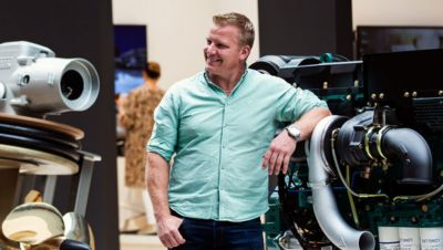 Johannes Karlsson - Applikationsingenjör på Volvo Penta