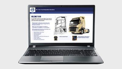 La interfaz de Volvo para fabricantes de carrocerías lo hace fácil