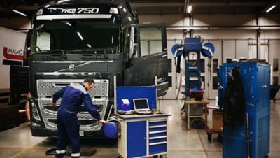 เครื่องยนต์ที่ประหยัดเชื้อเพลิงของ Volvo FH16