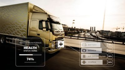 Allow the workshop to keep a close eye on the status of your truck - remotely