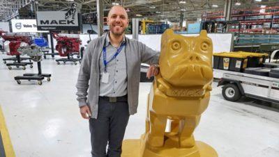 Guillaume Ribeiro z Grupy Volvo przyjął krótkoterminowe zadanie w Hagerstown w Stanach Zjednoczonych