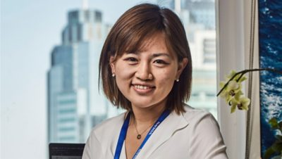 Katrina Yu at Volvo Group, Compliance Manager
