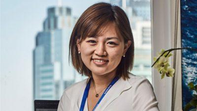 Katrina Yu bij de Volvo Group, Compliance Manager