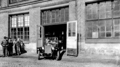 Het allereerste Volvo-voertuig