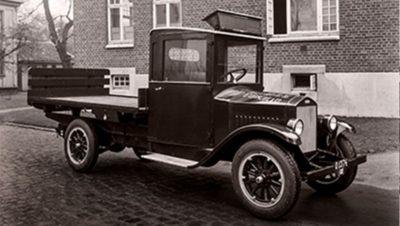 In 1928 the first ever Volvo truck was produced