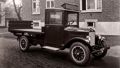 In 1928 werd de allereerste Volvo-truck geproduceerd