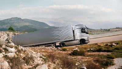 Double embrayage du Volvo FH