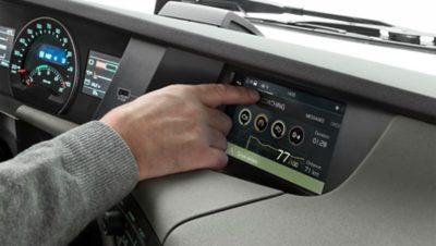 Volvo FH infotainment easy to use studio