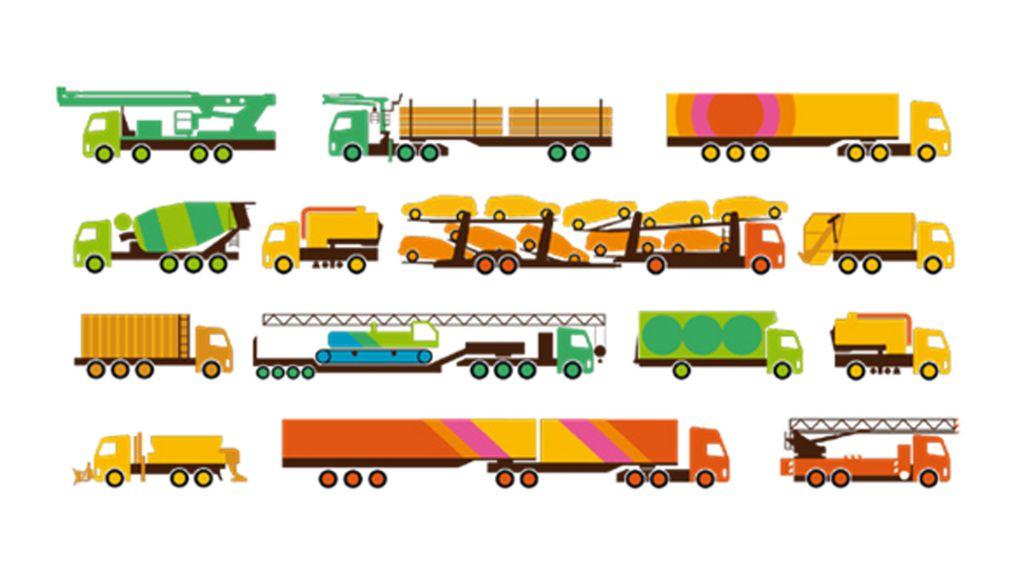 Het type opbouw of aanhanger is van grote invloed op het brandstofverbruik, net als de afstand tussen de truck en aanhanger, en de verdeling van de lading.