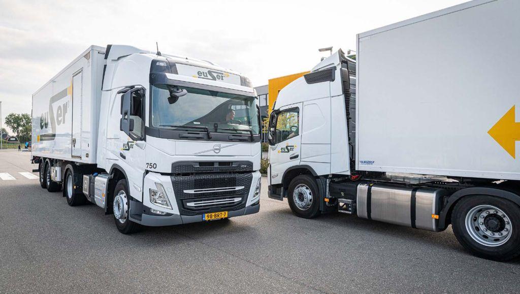 Koninklijke Euser belevert horeca met nieuwe Volvo's FM